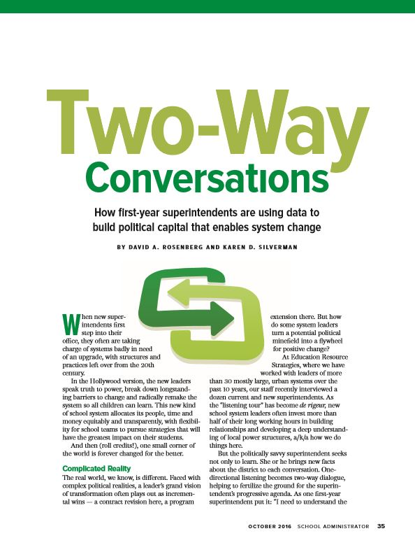 Two-Way Conversations